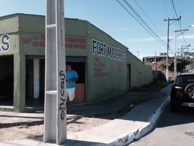 GALPÃO-RESERVAS DO PERO-CABO FRIO - RJ